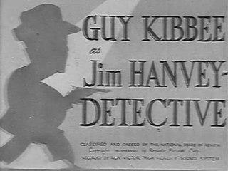 Jim Hanvey Detective (1937) Guy Kibbee