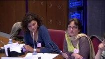 M. Pascal Revault (COMEDE), de Mme Caroline Izambert (ACT'UP Paris), de Mme Delphine Fanget (Médecins du Monde), et de Mme Laura Petersell (CIMADE) - Jeudi 22 Mai 2014