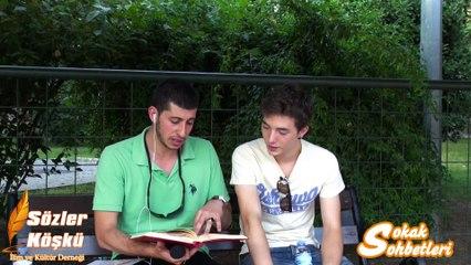 Ateist Bir Gençle Sokak Sohbeti 2 -  Serkan Aktaş