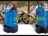 Tel 0983480880// Máy bơm nước thải Tsurumi KTZ67.5, bơm chìm bùn Tsurumi 7.5Kw