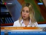 Burcu Burkut Erenkul - TRT Haber - Haber Tadında - Canlı Yayın - 2013