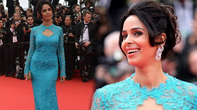 Mallika Sherawat Goes BLUE For Cannes 2014 | HOT