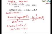 Trigonometri soru çözümleri videosu ekol hoca 10. sınıf matematik_2