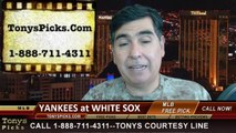 MLB Pick Chicago White Sox vs. New York Yankees Odds Prediction Preview 5-23-2014