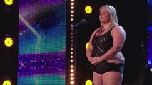 Amazing Pole-dancing demo during Britain's Got Talent 2014