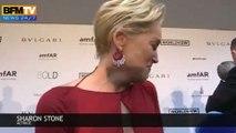 Zapping de Cannes – Les larmes de Sharon Stone