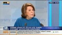 Corinne Lepage: L'invitée de Ruth Elkrief – 23/05