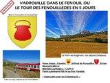 TOUR DES FENOUILLEDES ETAPE 4 de Caudiès-de-Fenouillèdes à Saint-Paul-de-Fenouillet