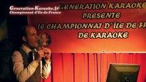 Totodeepwater  - Soirée de sélections du championnat d'île-de-France 2014 de karaoké au Palais d'été (Ris Orangis, 93) - Interprétation de Totodeepwater