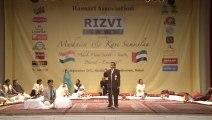 Iqbal Ashar   Urdu Poet In Hamari Association Mushaira Dubai 2012 United Arab Emirates UAE   HD