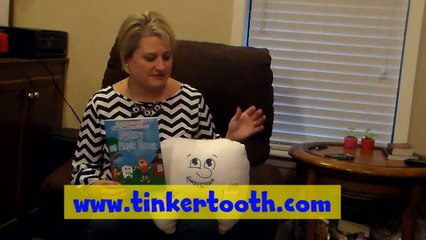 Tooth Fairy Pillow & Book by Connie Hanson