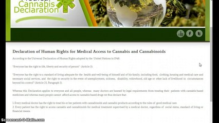 United Nations law makes cannabis legal as medicine