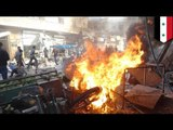 Syrian civil war: Syrian government drops barrel bombs on busy market, killing 25 civilians