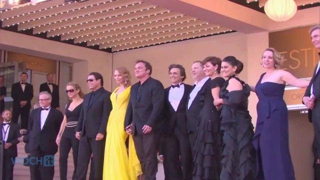 Quentin Tarantino Celebrates 'Pulp Fiction' At Cannes