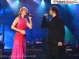 Céline Dion et Josh Groban Live