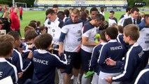 FFF : 1 minute avec les Bleus à l'entraînement