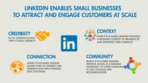 Linkedin Small Business Explainer video By Toon Explainers