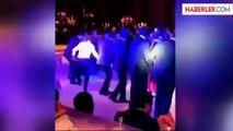 Hamit Altıntop'un Düğününde Sabri'den Çılgın Halay