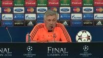 Ancelotti confirma titularidad de Cristiano antes de evaluar a Pepe y Benzema