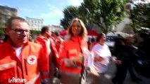 """150 ans de la Croix Rouge. Adriana Karembeu """"donne envie de donner"""""""