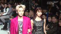 SSTV 140324 F/W 2014 Seoul Fashion Week  SHINee Key - Yagi Arisa