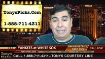 MLB Odds Chicago White Sox vs. New York Yankees Pick Prediction Preview 5-24-2014