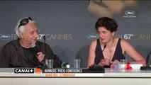 Conférence de presse pour le Grand Prix du Jury