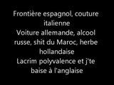 Seth Gueko, Lacrim, Mac Tyer & Rim'k   Paco Rayban (Paroles / Lyrics)