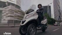 Essai MP3. Au guidon du nouveau scooter à trois roues
