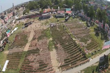Dunya News-Dunya News introduces drone camera for live aerial coverage of PTI rally