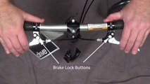 Knee Walker 790 Brake Adjustment Tutorial - video dailymotion