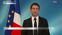 """Elections européennes : """"Un moment grave"""" pour Manuel Valls"""