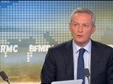 """Européennes: """"une défaite pour le Parti socialiste"""" selon Bruno Le Maire - 25/05"""