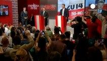 Ukraine: Poroshenko claims presidency, will never recognise Crimea referendum