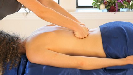 Best Relaxation Back Massage Techniques. How To Give A Relaxing Back Rub, ASMR Christen Renee