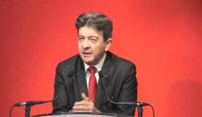 Conférence de presse de J.-L. Mélenchon - Européennes 2014