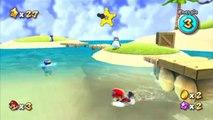 Super Mario Galaxy - Plage saladier - Étoile 1 : Scintillements au fond des mers