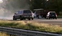 Accidents et Rubbernecking Causes accidents et carambolages de voitures