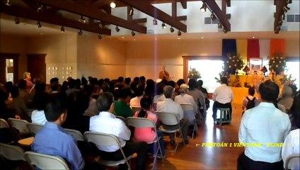 Dự Lể Phật Đản 25-5-2014 do Thượng Tọa Thích Phước Tịnh chủ tọa ở Riverside-CA