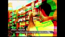 Asaltos en locales comerciales: testimonios de terror e inseguridad