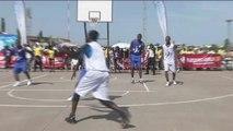 Bénin, Cotonou a accueilli le tournoi international de Basket de rue
