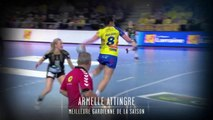 Armelle Attingré élue meilleure gardienne (Nuit du Handball 2014)