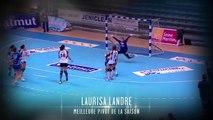 Laurisa Landre élue meilleure pivot (Nuit du Handball 2014)