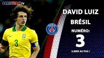 Quel numéro pour David Luiz au PSG ?