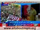 Nabeel Gabol speech on MQM Rally to express solidarity with Mr Altaf Hussain at Tibet Center Karachi