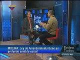 Molina: Tenemos que corregir la Ley de Arrendamientos Inmobiliarios