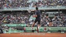 My Roland Garros . Jouer sur terre battue par Novak Djokovic