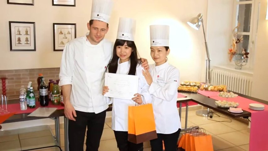 Diploma ceremony at ENSP of our last French Pastry Arts Program - Autumn Session 2013