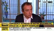 """Bygmalion : """"C'est l'affaire des comptes de campagne du candidat Sarkozy"""""""