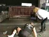 Gangrel & Edge vs Al Snow & Road Dogg Hardcore Tag Team Match 1/25/99